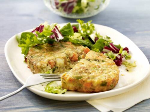 Gemüse-Vollkorn-Bratling, ca. 150 g