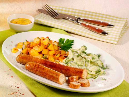 Bratwurst, vegetarisch, ca. 90 g