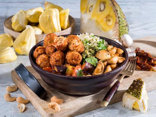 """Jackfruit-Bites """"Mediterran"""", ca. 15 g"""