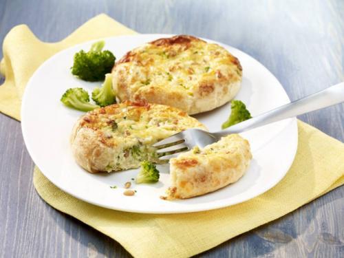 Broccoli-Käse-Törtchen, ca. 200 g