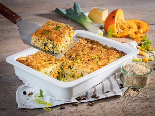 """Auflauf """"Quinoa-Kürbis"""", ca. 2.500 g"""