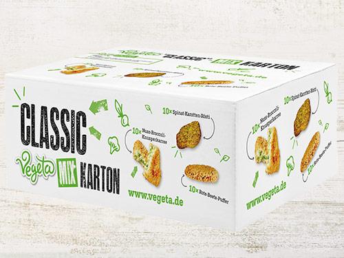 "Vegeta ""Classic"" - Mixkarton, ca. 2.400 g"