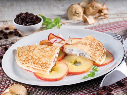 """Eierpfannkuchen """"Quark-Rosine"""", ca. 150 g"""